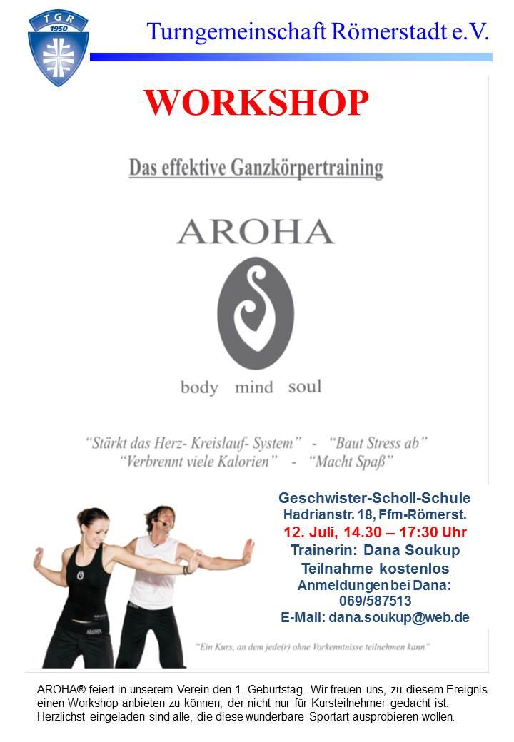Die TG Römerstadt E.V. Startete Vor Einem Jahr (am 03.06.2013) Ein  Neuartiges Fitnessprogramm